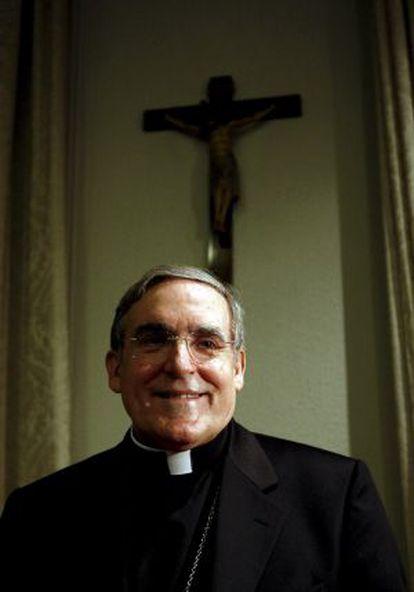 El arzobispo de Barcelona, Lluis Martínez Sistach, en una foto de archivo.