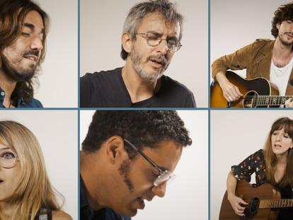 Xoel López, Depedro, Tulsa, Andrés Suárez, Virginia Maestro e Isma Romero tocan canciones de 'Mediterráneo'
