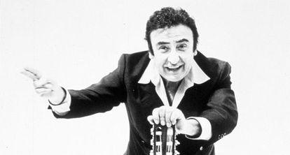 Peret, maestro de la rumba catalana.