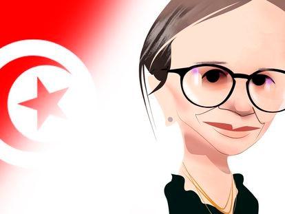 Najla Buden: primera ministra, mujer y sin poderes