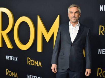 Alfonso Cuarón, en la estreno de 'Roma' en Hollywood el 10 de diciembre.