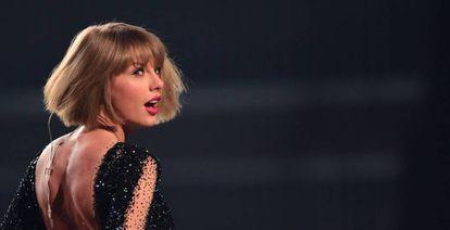 Taylor Swift, en los premios Grammy en 2016.