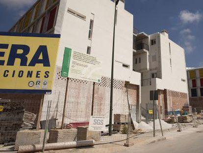 Promición de vivienda de protección oficial en Málaga, en una imagen de archivo.