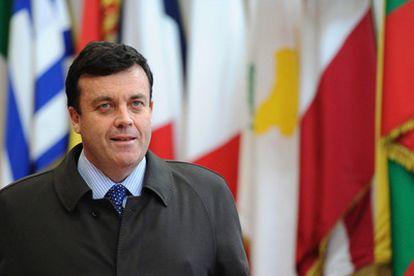 El ministro irlandés que aprobó el rescate europeo, en una imagen de archivo de 2010.