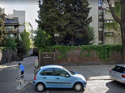 Número 74 de la calle de Agastia, en Ciudad Lineal (Madrid). GOOGLE MAPS