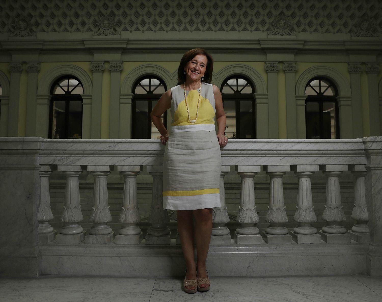 Ana Santos, directora de la Biblioteca Nacional, en julio de 2019.