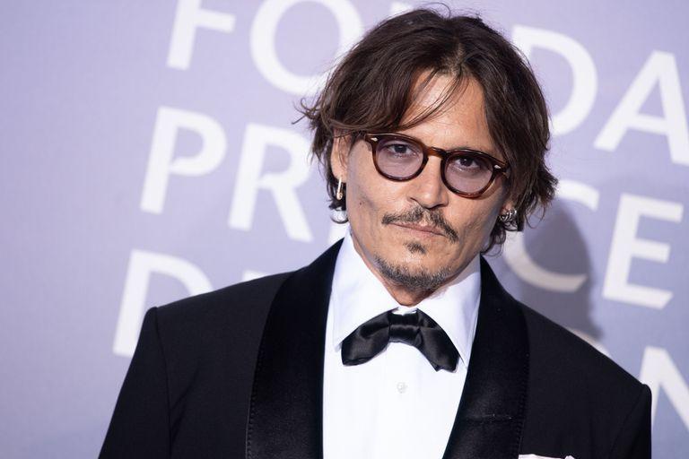 Johnny Depp, en una gala en Monte Carlo el 24 de septiembre de 2020.