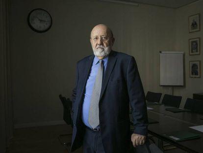 José Félix Tezanos, presidente del CIS, en la sede de Madrid.