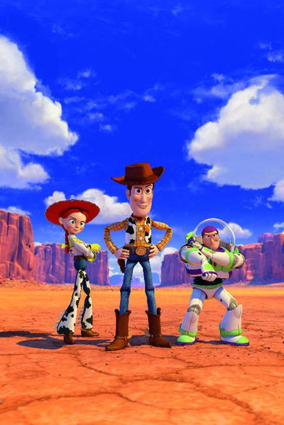 Un fotograma de <i>Toy Story 3</i>, que se estrena esta semana en España.