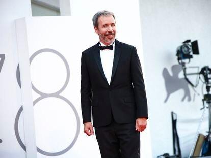Denis Villeneuve, antes de la proyección de gala de 'Dune' en el festival de Venecia, el 3 de septiembre.