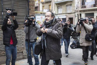 El diputado dimisionario  de la CUP, Antonio Baños.