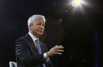 Jamie Dimon, de JP Morgan Chase & Co, en el Bloomberg Global Business Forum en Nueva York el pasado es de septiembre.