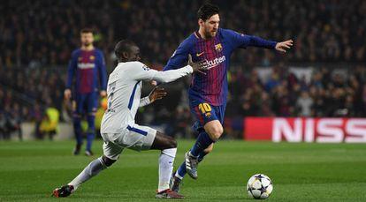 Barcelona vs Chelsea.