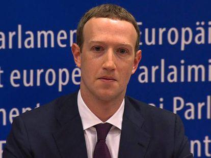 Mark Zuckerberg, consejero delegado de Facebook