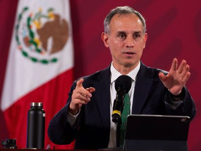 El subsecretario de Prevención y Promoción de la Salud mexicano, Hugo López-Gatell, este miércoles.