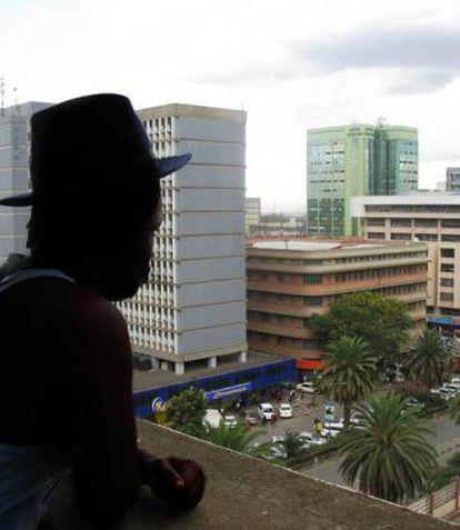 Brandon Gacheru, trabajador sexual en Nairobi (Kenia).