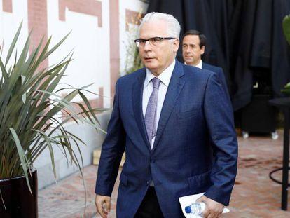 El exjuez Baltasar Garzón, en un acto en la Casa de América.