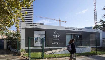 Promoción de viviendas de Neinor en L'Hospitalet.