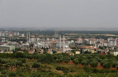 Vista de la ciudad de Kilis (sureste de Turquía), en la frontera con Siria.