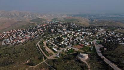 Asentamiento judío de Maale Afraim en el valle del Jordán, en Cisjordania.