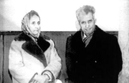 Elena y Nicolae Ceaucescu, personajes de Ignacio Vidal-Folch.