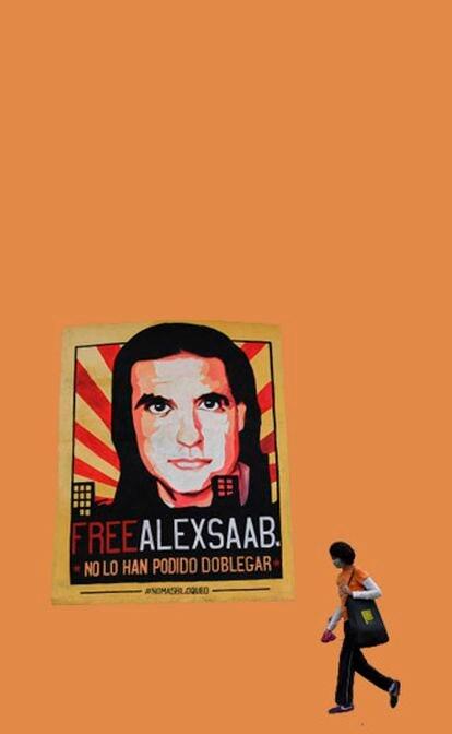 El chavismo abraza a Alex Saab como a un mártir