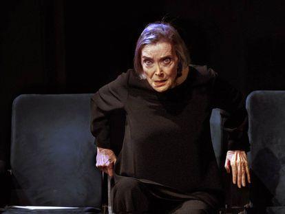 Núria Espert, en 'Romancero gitano'.