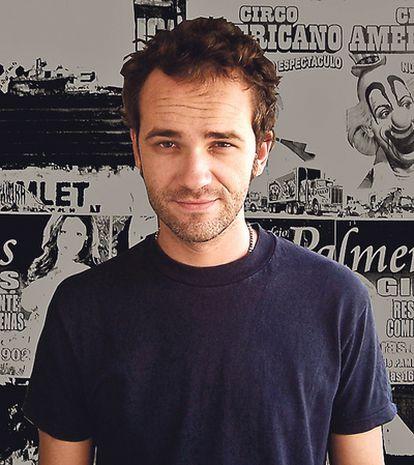 <b>El escritor de Almassora (Castellón) Robert Juan-Cantavella.</b>