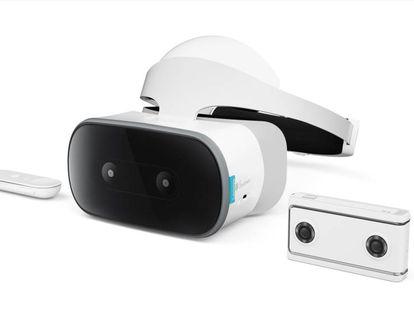 Mirage Solo y Mirage Camera 180 de Lenovo y Google presentadas en CES 2018.