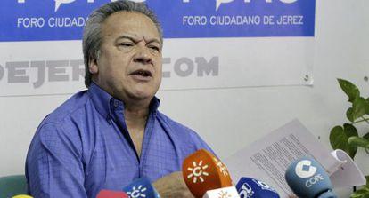 Pedro Pacheco, este martes, tras conocer la sentencia.