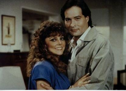 Fotograma de la telenovela 'Los ricos también lloran', con Verónica Castro.