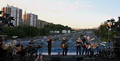 Captura de video del concierto.