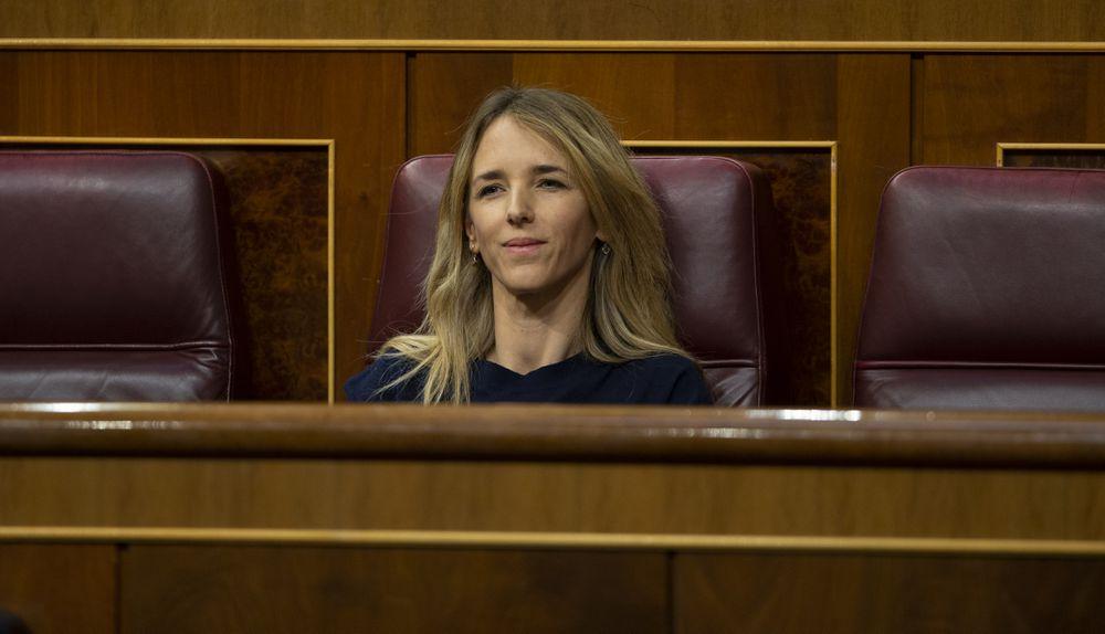 La portavoz del Partido Popular, Cayetana Álvarez de Toledo, en el Congreso, el pasado 17 de junio.