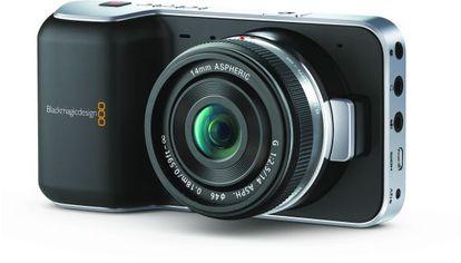 Imagen de la cámara Black Magic Pocket, que graba vídeo en alta definición.