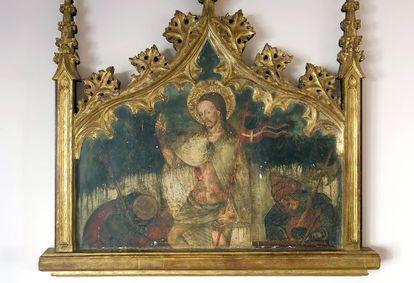 'La Resurrección', tabla del siglo XV atribuida a Garcia de Benabarre