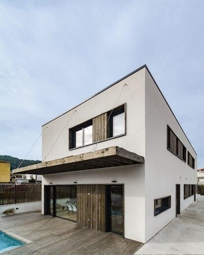 Casa pasiva con la máxima certificación energética en Sant Andreu de la Barca (Barcelona) de Arquima.