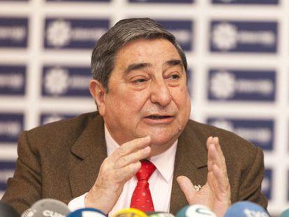 El expresidente del Deportivo, Augusto César Lendoiro