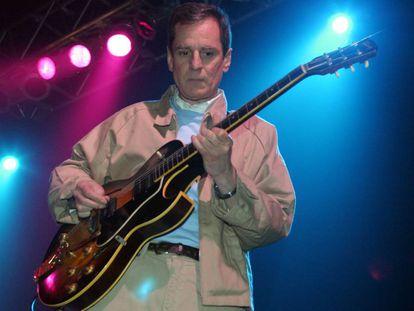 El músico Alex Chilton, en 2004 en Austin.