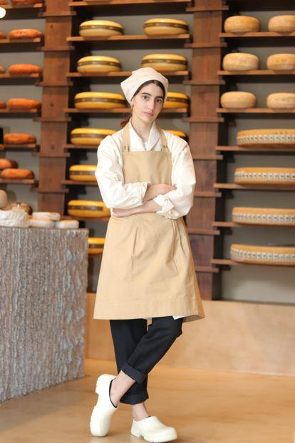 Clara, fundadora de la tienda de quesos Formaje
