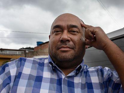 Daniel Torres, en La Dolorita de Petare, en Caracas (Venezuela).