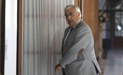 El diputado del PSOE y exconsejero Antonio Ramírez de Arellano, en el Parlamento andaluz.