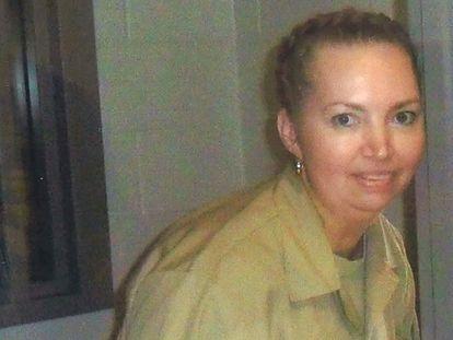 Lisa Montgomery, cuya ejecución está prevista este martes, en el Centro Médico Federal de Fort Worth, en una imagen sin datar.