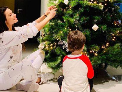 La Navidad llega a las casas de los famosos