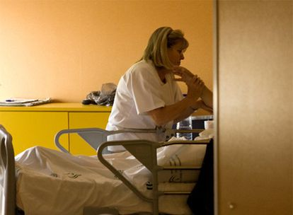 Servicio de cuidados paliativos del hospital Virgen Macarena de Sevilla.