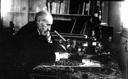 Imagen de Santiago Ramón y Cajal.