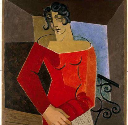 'Cantante' (1929), de Juan Gris.