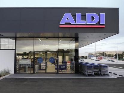 Nuevo supermercado en San Fulgencio (Alicante) de Aldi.