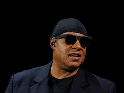 Stevie Wonder, en 2017 en Nueva York.