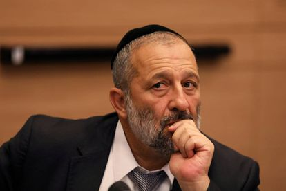 FILE PHOTO: Israel's Interior Minister Aryeh Deri, leader of the ultra-Orthodox Shas party, attends a meeting at the Knesset, Israel's parliament, in Jerusalem September 13, 2017. REUTERS/Ammar Awad/File Photo