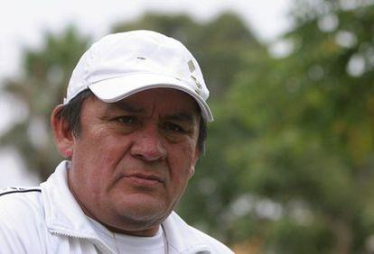 El exjugador peruano Hugo Sotil.